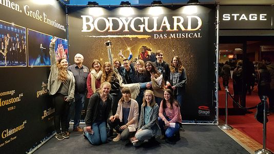 "Musical ""Bodyguard"" in Stuttgart"